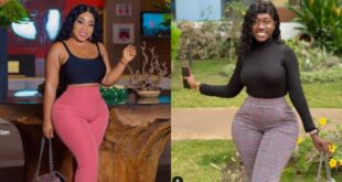 Moesha React to fan who said Hajia Bintu is 'natural' and she is 'fake'